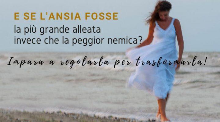 Mariacristina life coach su spiaggia ventosa: e se l'ansia fosse la miglior alleata invece che la peggior nemica? Impara a regolarla per trasformarla!